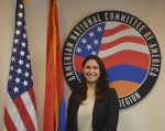 ANCA-WR Government Affairs Director Tereza Yerimyan