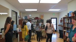ANCA WR Summer Interns Visit Asbarez