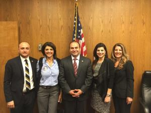ANCA WR NER Committee Chair and Members with Asssemblymember Nazarian