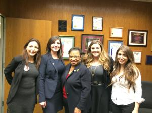 Meeting with Assemblymember Cheryl Brown