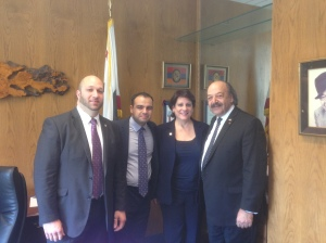 With Assemblymember Katcho Achadjian