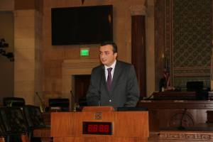 NKR Representative to US Robert Avetisyan